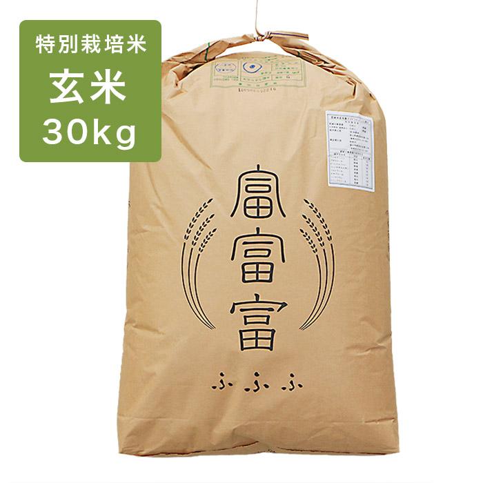 富富富玄米30kg